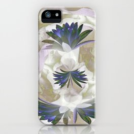 Lilies in the Round iPhone Case