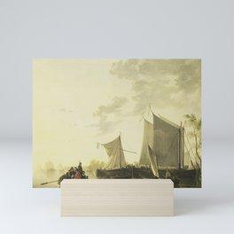 River View, Aelbert Cuyp (copy after), 1815 - 1849 Mini Art Print