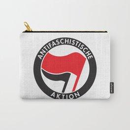 Antifa T-Shirt Antifaschistische Aktion Carry-All Pouch