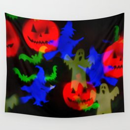 Ghosts And Ghouls Wall Tapestry
