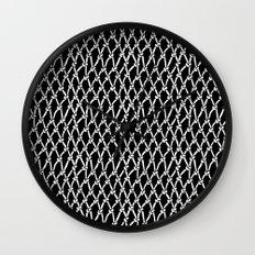 Net Black Wall Clock