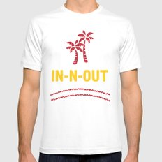 IN-N-OUT - Best burger Joint MEDIUM Mens Fitted Tee White