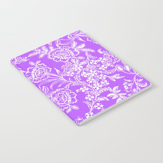 Radiant Orchid Tea Notebook