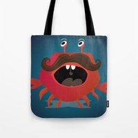 cancer Tote Bags featuring Cancer by Maria Jose Da Luz