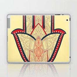 Rubino One World Red Yoga Hand Laptop & iPad Skin