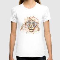 scuba T-shirts featuring Scuba Lion by Kristen Williams