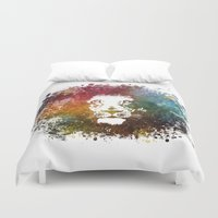 lion king Duvet Covers featuring Lion King by jbjart