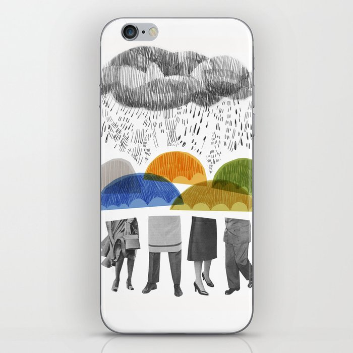 cloudy days for uppercase mag iPhone Skin