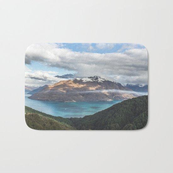 Island clouds Bath Mat