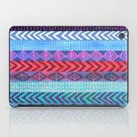 peru iPad Cases featuring PATTERN {Peru Stripe} by Schatzi Brown