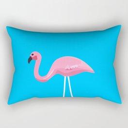 Mr. Flamingo Rectangular Pillow