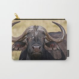 African Buffalo - Africa wildlife Carry-All Pouch