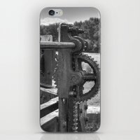 grease iPhone & iPod Skins featuring Gears and grease by PICSL8