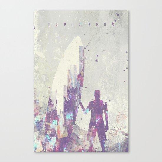 Explorers III Canvas Print