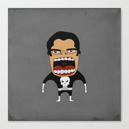 Screaming Punisher Canvas Print