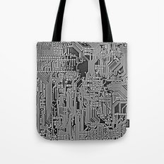Circuit Board Tote Bag
