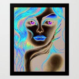 Solonge Art Print