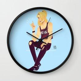 TNT Wall Clock