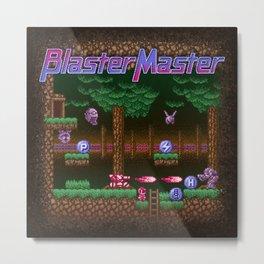 Master Blaster Metal Print