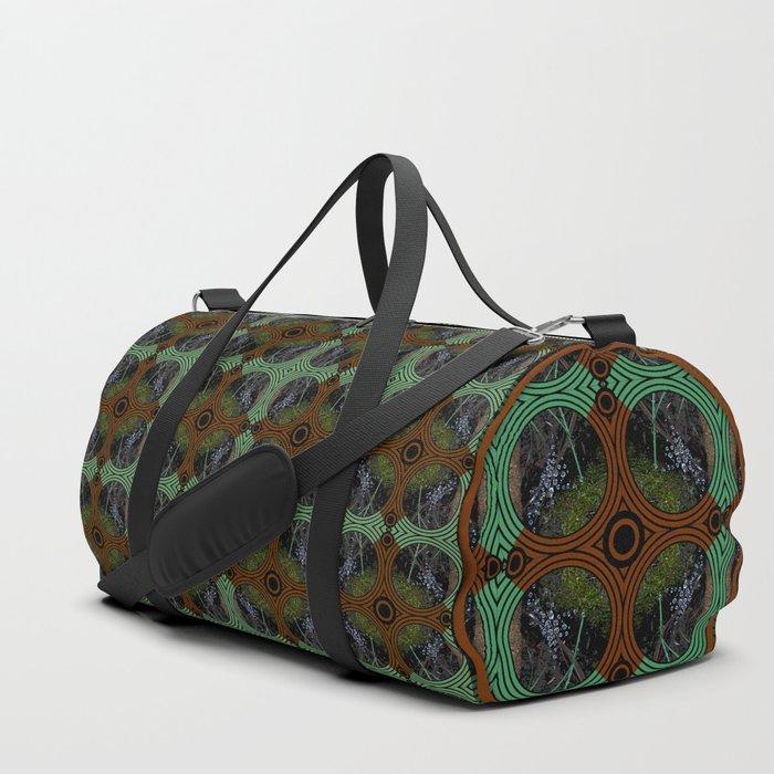 Nature Portals Pattern Duffle Bag