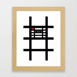 Red Scare Framed Art Print