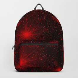 small red hearts and stars Backpack
