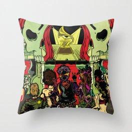 27 Club | Dead Rock Stars Throw Pillow