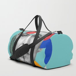 water bowie collage Duffle Bag