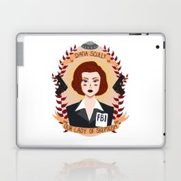 Dana Scully Laptop & iPad Skin