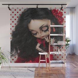 Lola Flores Blythe doll by Erregiro Wall Mural