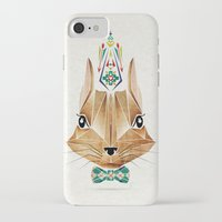 squirrel iPhone & iPod Cases featuring squirrel by Manoou