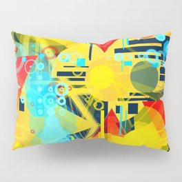 Sunny day at the beach Pillow Sham
