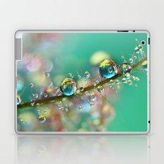 Smokey Rainbow Drops Laptop & iPad Skin
