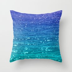 SEA SPARKLE Throw Pillow