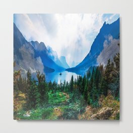 Beautiful Wilderness Landscape Photograph Metal Print