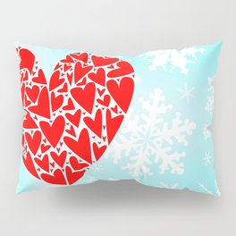 Winter Love Pillow Sham