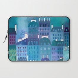 Paris Blues Painting Laptop Sleeve