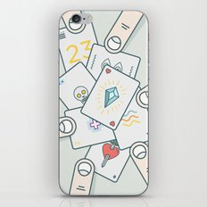 It Wasn't In the Cards iPhone & iPod Skin