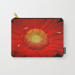 Red Daisy close up Carry-All Pouch