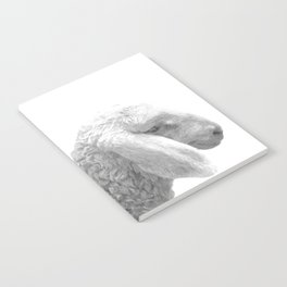 Black and White Sheep Notebook