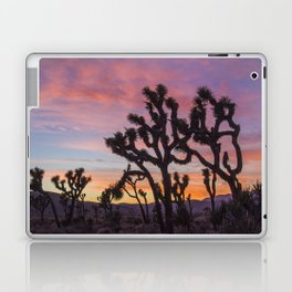 Colorful Sunset in Joshua Tree National Park Laptop & iPad Skin