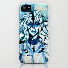 Blue iPhone Case