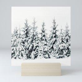 Snow Porn Mini Art Print