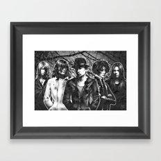 BRAIN CRASH Framed Art Print