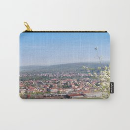 Cityscape Against Sky Carry-All Pouch