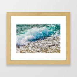 Make A Splash Framed Art Print
