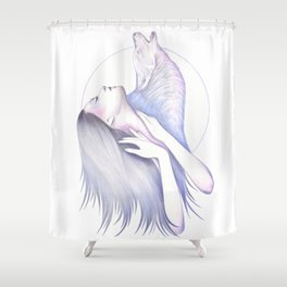 Wolves In You Shower Curtain
