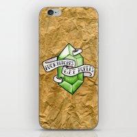 the legend of zelda iPhone & iPod Skins featuring Zelda by Danni Fuentes