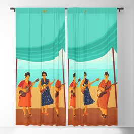 Three Sisters Blackout Curtain