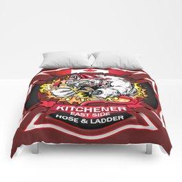 Kitchener East Side Hose & Ladder Comforters
